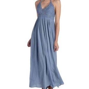 Sand & Spirit Crochet Maxi Dress